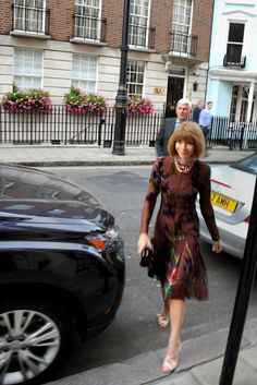 Anna Wintour at the Obama Fundraiser she hosted with Tom Ford