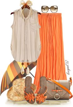 """""""Maxi Fun in the Sun"""" by leegal57 on Polyvore"""