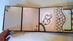 Happy Day 9 x 7 Mini Album -  This is a 9 x 7 interactive mini album.