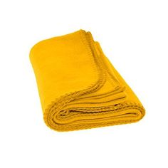 Pet Fleece Blanket  Dogs Cats and All Pets Soft Fleece Yellow >>> Continue to the product at the image link.
