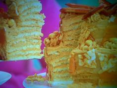 Mary's Tiered Dobos Torte Featured On The Great British Bake Off Masterclass