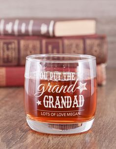 A grand man like your Grandad deserves to be spoilt in a grand way this Grandparents' Day 2019. With a day set aside to shower him with all your love and affection, why not go all out with a gift like a personalised whiskey glass. Let him enjoy his favourite drink in a special way as he is reminded of how much you appreciate him. Order gifts to celebrate Grandparents' Day from NetFlorist and make your oupa a happy man with a heartfelt gift delivery. Pink Happy Birthday, Happy Birthday Candles, Grandparents Day Gifts, Grandpa Gifts, Gift Delivery, Unicorn Balloon, Lucky To Have You, Heart Balloons, Tears Of Joy