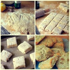 Buttermilk Ginger Biscuits