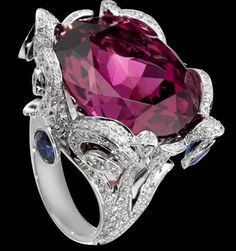 Piaget. Ruby and diamond ring