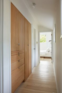 a hallway closet solution is something we'd be interested in if it saves space.