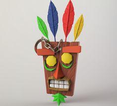 aku-aku-mask-keychain-3d-printing-126296.jpg (1220×1115)