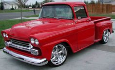 "chevy apache - 1958 : Okay, I am thinking , this is the ultimate ""last"" vehicle to buy and drive."