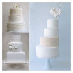 Dreamy Winter Wedding Cakes!