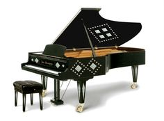 Apparently the world's most expensive piano...a Kuhn-Bosendorfer-