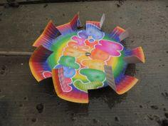 Recycled paper plate into pinwheel & Idei pentru mămici şi copii | flori | Pinterest | All. Search and Ps