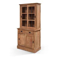 Lifestyle Shop Cabinet Natural Teak 100x35/50x200cm  £1,200