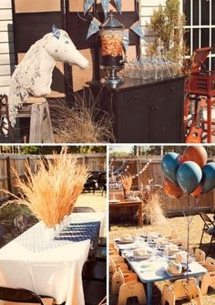 """""""Cowboy Cookie Corral"""" Birthday Party // Hostess with the Mostess® Cowboy Theme Party, Cowboy Birthday Party, Horse Party, Farm Party, Birthday Party Themes, Rodeo Party, Barnyard Party, Fourth Birthday, Pirate Party"""