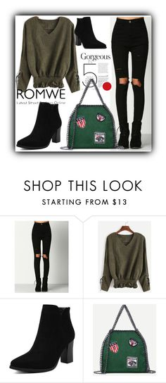 """8/17 romwe"" by fatimka-becirovic ❤ liked on Polyvore"