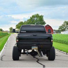 Booty! @redheelin Lifted Cummins, Cummins Diesel Trucks, Dodge Diesel, Ram Trucks, Dodge Trucks, Dodge 2500, Truck Quotes, Jacked Up Trucks, Trucks And Girls