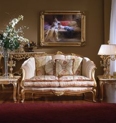 Vintage French | Antique Furniture Reproductions: French Country Family Room Design ...