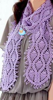 Pineapple scarf
