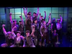 """Seize the Day: Disney's NEWSIES Performs on """"The View"""" - Now on Broadway!"""