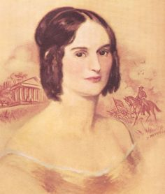 Mary Custis, wife of General Robert E. Lee; she may be one of the ghosts which haunt Arlington Mansion, one of General Lee's haunted homes.  See Chapter 31, Dixie Spirits:  http://www.barnesandnoble.com/w/dixie-spirits-christopher-k-coleman/1009332250?ean=9781581826715