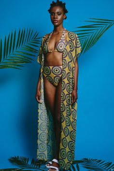 TITI african print coverup / kimono ~Latest African fashion, Ankara, kitenge, African women dresses, African prints, African men's fashion, Nigerian style, Ghanaian fashion ~DKK