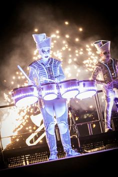 Sparklers - LED Drummers - Wow Entertainment