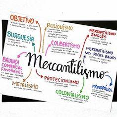 🔹◾Resumo de história sobre Mercantilismo. . . . . . . 🔹◾Post em dobro hoje! Aqui está o resumo de mercantilismo para complementar o de absolutismo. . . . Bons estudos!! 😘😘 . . . #studygram #resumos #mapamental #mapasmentais #historia #enem #enem2018