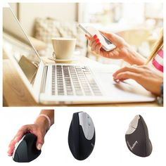 Souris ergonomiqueverticale sans fil by Urban Factory