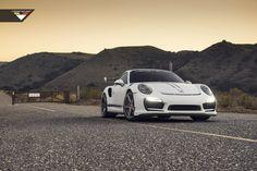 The Vorsteiner V-RT Porsche 911 Turbo Turns up the Heat