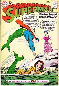 Superman 139, DC Comics, Lori Lemaris, Supergirl, Lois Lane, Curt Swan. 1960 Comic book in FN/VF (7.0)