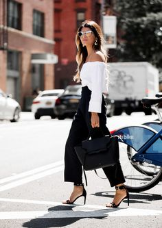 Off-the-shoulder Top / NYC / The Girl From Panama