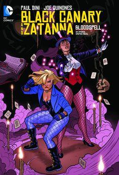 Black Canary And Zatanna Bloodspell Tp