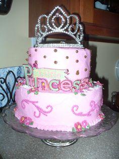 Princess Baby Shower Cake @Mara Matthews