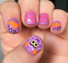 Figment the Imagination Dragon | Finger Candy Disney Rides, Little Dragon, Disney Nails, Nail Ideas, Imagination, Finger, Candy, Fantasy, Fingers