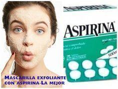 Mascarilla de aspirina el mejor exfoliante para tu piel | Cuidar de tu belleza es facilisimo.com