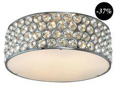 Светильник потолочный - металл, 18хØ45 см