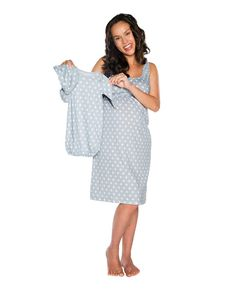 9f2842cc33c4a 16 Best Gownies- Labor and Delivery Gowns images | Birthing gown ...