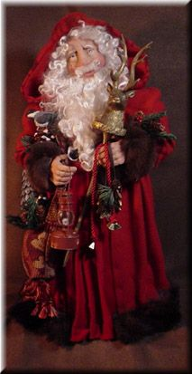 Woodland Father Christmas by Michelle Jewell Treichler