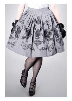 Restyle Crows & Lanterns Skirt, £51.99
