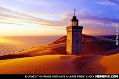 Jutland Lighthouse~Denmark