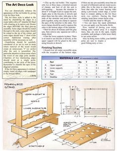 DIY Fishing Rod Stand - Woodworking Plans