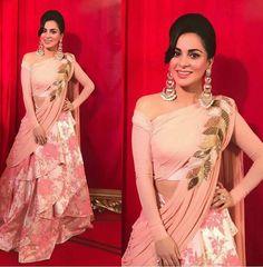 Shradha At Zee Cine Awards designer lehenga choli, party wear lehenga choli Lehenga Choli, Lehnga Dress, Bridal Lehenga, Anarkali, Pink Lehenga, Lehenga Blouse, Designer Party Wear Dresses, Indian Designer Outfits, Indian Outfits