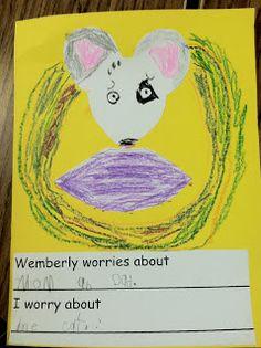 Wemberly Worried Expanding Vocabulary