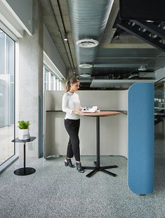 Designed by Australian Nick Tennant, Focus provides a quiet refuge for a private conversation or solo work time, absorbing outside noise and shielding the user from view. The units come equipped with power and data connections. Office Pods, Study Nook, Open Office, Office Furniture, The Unit, Interior, Modern, Desks, Workplace