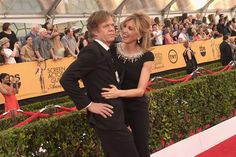 Pin for Later: William H. Macy and Felicity Huffman Bring Their Longtime Lovefest to the SAG Awards