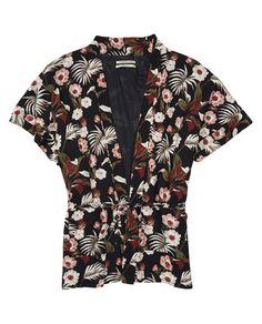 Vintage Inspired Kimono Jacket