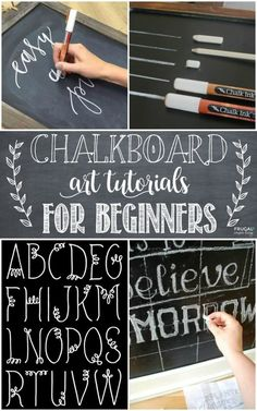 Chalkboard Art Tutorials and Hand Lettering Tutorials for beginners and those who desire the skill of script. Calligraphy and Chalkboard Lettering. Details on Frugal Coupon Living. art tutorial Chalkboard Art and Hand Lettering Tutorials Chalkboard Doodles, Blackboard Art, Chalkboard Writing, Chalkboard Fonts, Chalkboard Designs, Chalk Writing, Chalkboard Ideas, Chalkboard Drawings, Chalkboard Paint