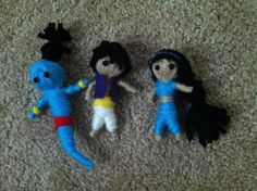 Hey, I found this really awesome Etsy listing at https://www.etsy.com/listing/167882035/aladdin-jasmine-and-genie-string-voodoo