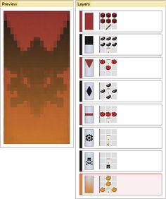 Afbeeldingsresultaat voor minecraft banner maken met een boog