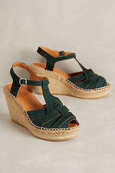 Naguisa Roqueta Wedges #anthropologie