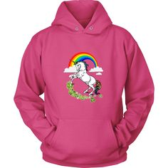 "Saint Patrick's Day - "" Unicorn "" - custom made  unique apparel."