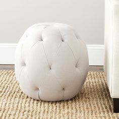 Alonso Tufted Ottoman